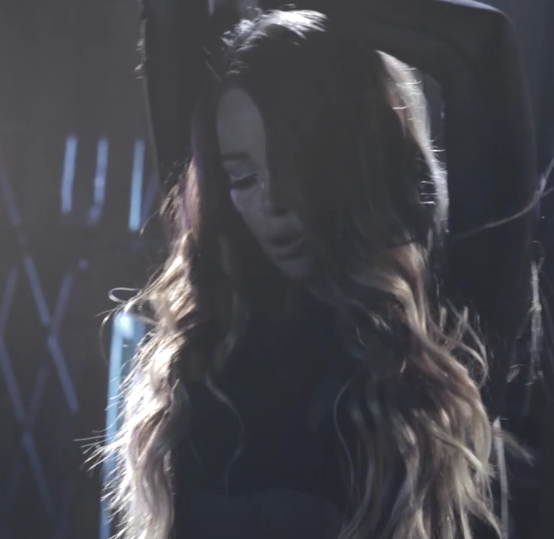 Lily Elise in the music video for her single, Taken 2015 alternative pop R&B the voice team xTina
